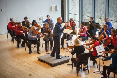 James Freeman conducting Chamber Orchestra FIRST EDITIONS